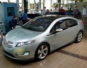 ChevroletVolt - electric car