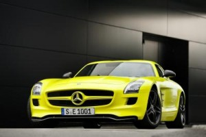 SLS AMG E-CELL, Merceerdes, electric super sport car