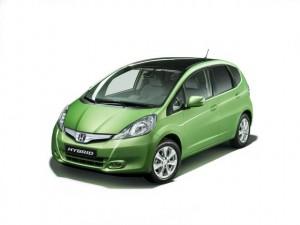 Honda Jazz - hybrid vehicle