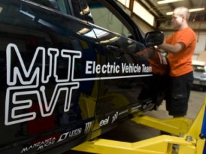 Rapid charging solution offered by MIT- Electric Vehicle Team