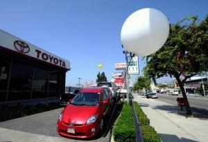 Hybrid Vehicle Toyota-Prius