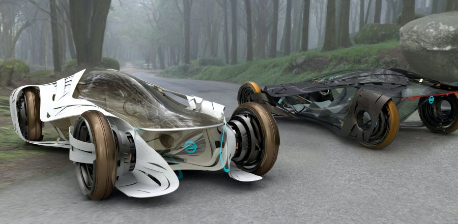 Nissan-iV Electric Vehicle