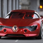 dezir electric car, renault electric car, sport coupe electric vehicle