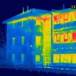 Green Buildings Signs of the Minimum Heat Loss