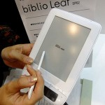 Biblio Leaf the solar powered e-reader is a thorn for competitors