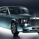Green-Electric-limousine-Rolls Royce Phantom-EX102
