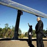 Solar Energy Tapped By Solar Tracker Solar Panels