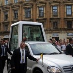 Popemobile-hybrid-vehicle-Mercedes-Benz