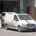 Mercedes-Benz showcases the Vito E-CELL in Stuttgart