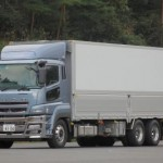 Fuso develops hybrid truck