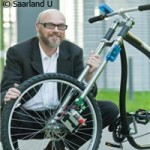 The wireless bicycle brake