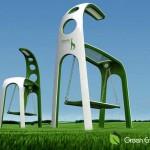 Giraffe-Street-solar-power-generating-lighting-system