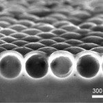 Nanoshell whispering galleries improve thin solar panels