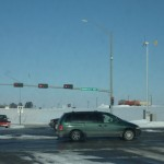 Solar and wind powered traffic lights