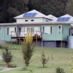 Environmentally-friendly houses use 80 per cent less energy