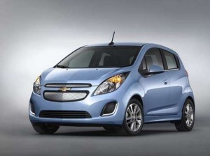 Chevy-Spark-FAst-Charging-Time-Electric-vehicle