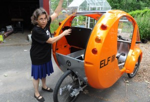 Elf a hybrid vehicle