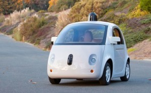 Google self-driving electric cars