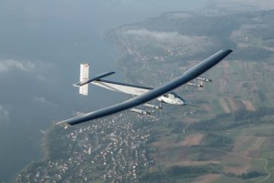 Solar powered aircraft to energy efficiency
