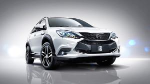 BYD Tang plug-in hybrid vehicle