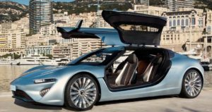 Ouant-e Sport Limousine runs on saltwater